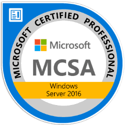 Get Your MCSA Window Server 2016 Certification​